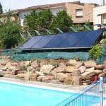 Calentamiento del agua de piscinas para alargar temporada de uso en Valgañon