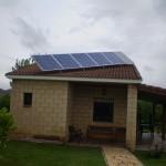 Paneles solares fotovoltaicos aislada en Entrena