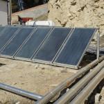 Instalación solar térmica en Hotel Balneario