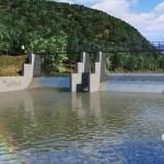 Central hidroeléctrica en Chile