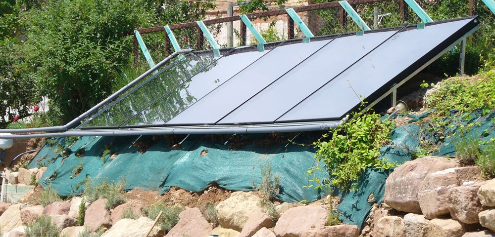 Colectores solares Térmicos