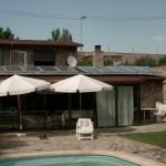 Instalación solar térmica en casa particular