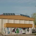 Placas solares térmicas en el polideportivo Madre de Dios