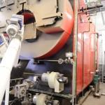 Calderas de vapor para la instalación de biomasa en lavandería de Corosma