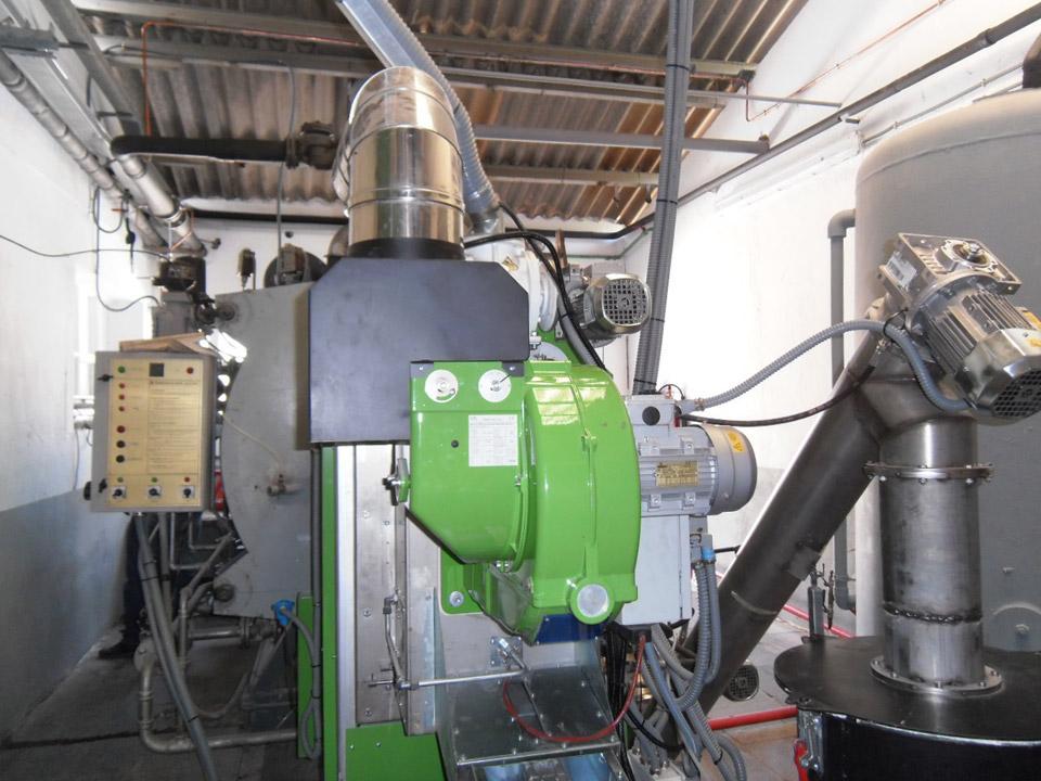 Instalaciones de biomasa para Matadero de Logroño