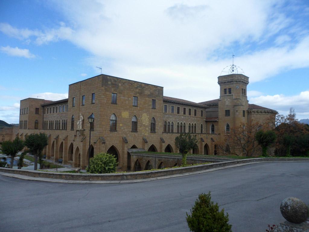 Biomasa en Monasterio La Estrella