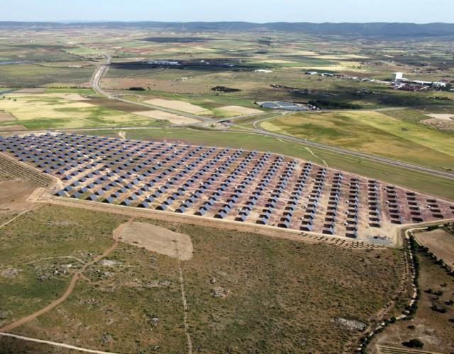 Parque Solar Fotovoltaico Villaverde