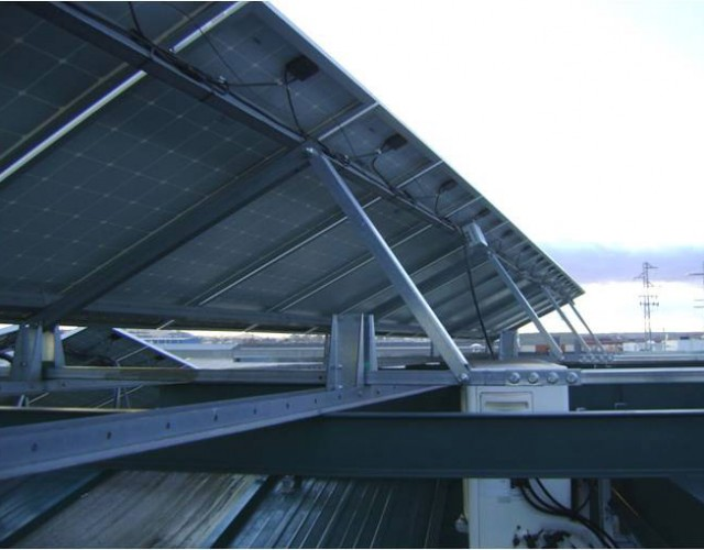 Posicionamiento módulos solares