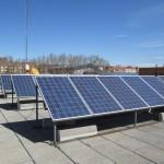 Instalación solar fotovoltaica en Cosme García