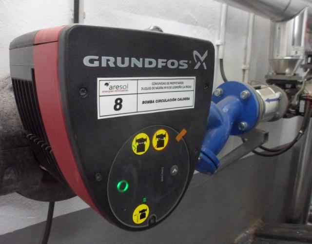 Biomasa en Duques de Nájera