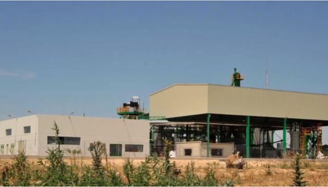 Vista de la planta 5 Villas de Gasificación de Biomasa