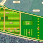 Plano parque solar de Jaiba Solar en Brasil
