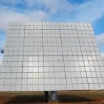 Una de las placas solares del parque fotovoltaico de Jaiba Solar en Brasil