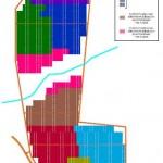 Plano de la instalación en Aguas Calientes
