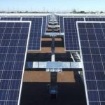 Paneles solares en Aguas Calientes