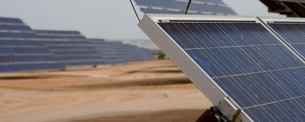 Placas solares de Grupo Aresol.