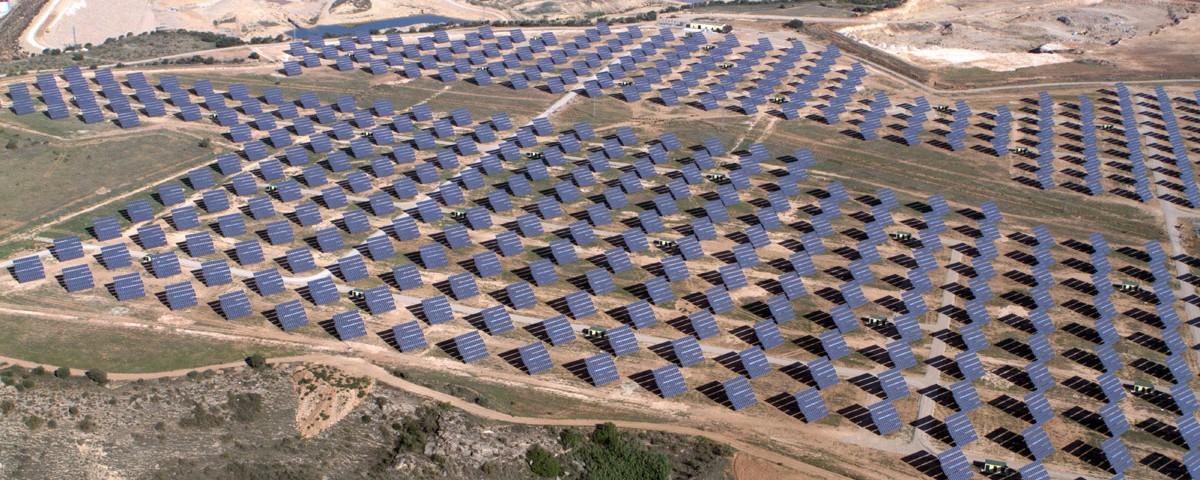 Parque solar fotovoltaico de Grupo Aresol.