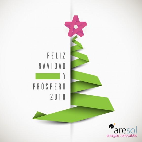 Grupo Aresol os desea Feliz Navidad y Próspero 2018