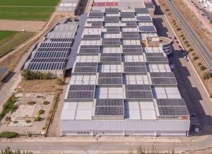 Instalación solar fotovoltaica de autoconsumo en la empresa BTV