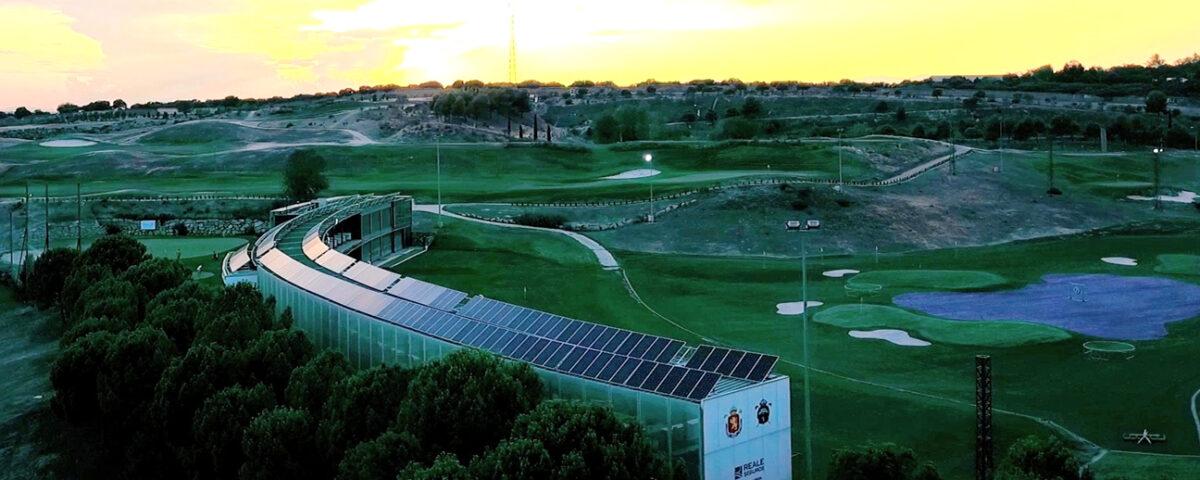 Instalación solar fotovoltaica de autoconsumo en el Centro de la Real Federación Española de Golf en Madrid