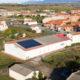 Vista aérea de las instalaciones de la empresa Frutas Muñoz de Marcos