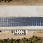 Instalación solar fotovoltaica de autoconsumo en fábrica de embutidos en Las Ruedas de Ocón, La Rioja