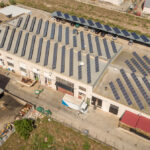Instalación solar fotovoltaica de autoconsumo en matadero de Calahorra, La Rioja