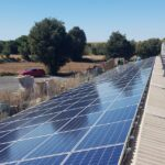 Instalación solar fotovoltaica de autoconsumo en granja porcina