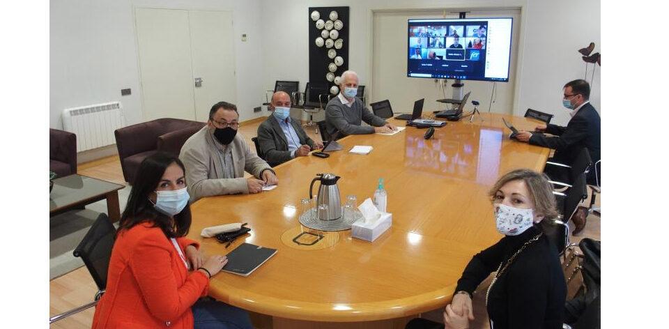 Reunión Ayuntamiento de Logroño y FER