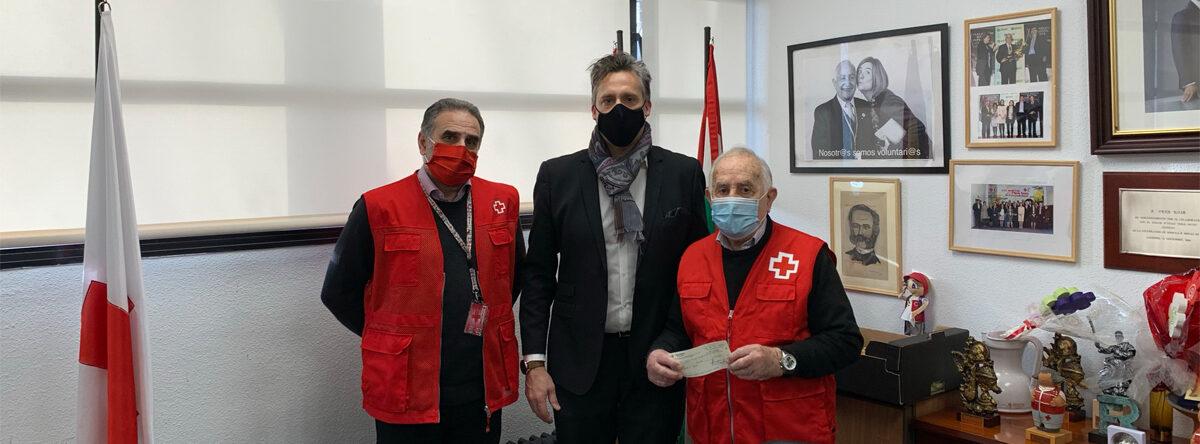 Aresol entrega una aportación económica a Cruz Roja La Rioja