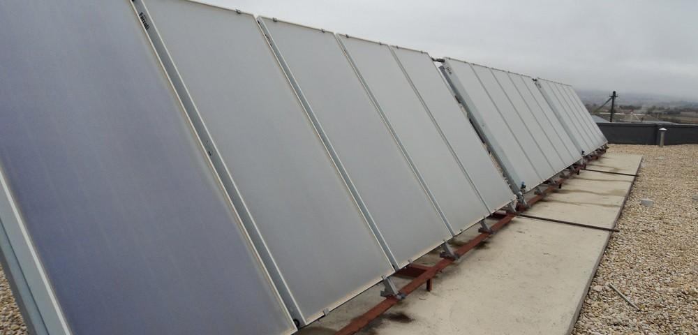 Instalación solar térmica