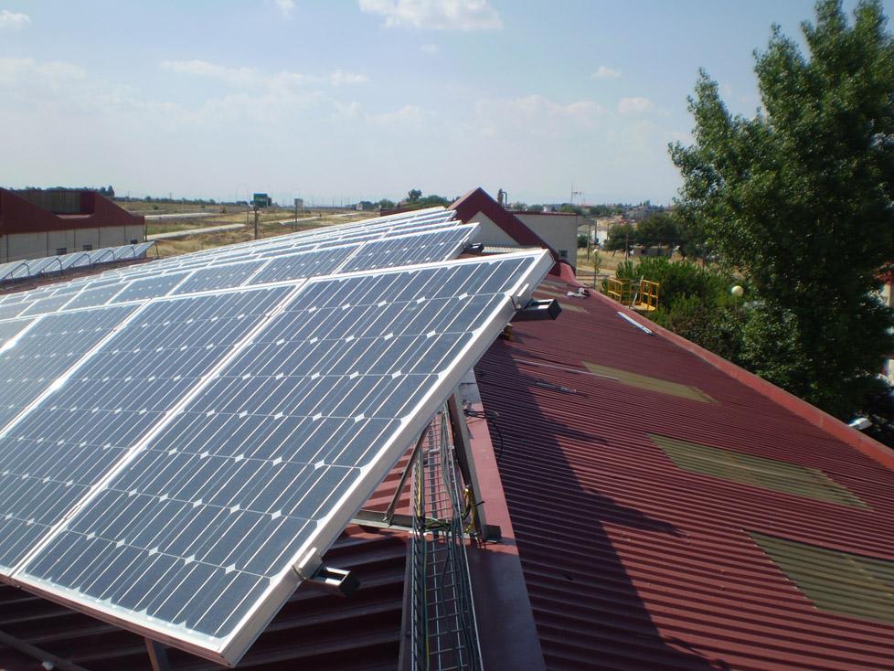 Instalación solar fotovoltaica IMP (conexión a red)