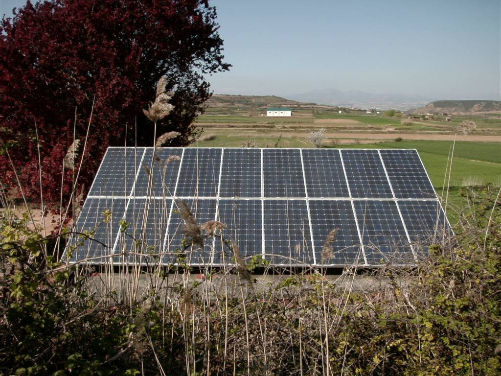 Instalación solar fotovoltaica aislada