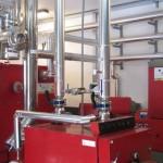 Instalaciones de biomasa en el Parador Nacional de Teruel