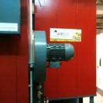 Instalaciones de biomasa en el Santuario de Javier