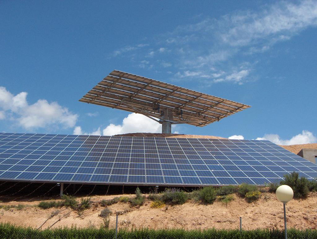 Instalación solar fotovoltaica en Ariza