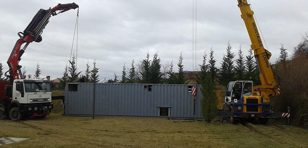 Biomasa AMH en Residencia San Antón