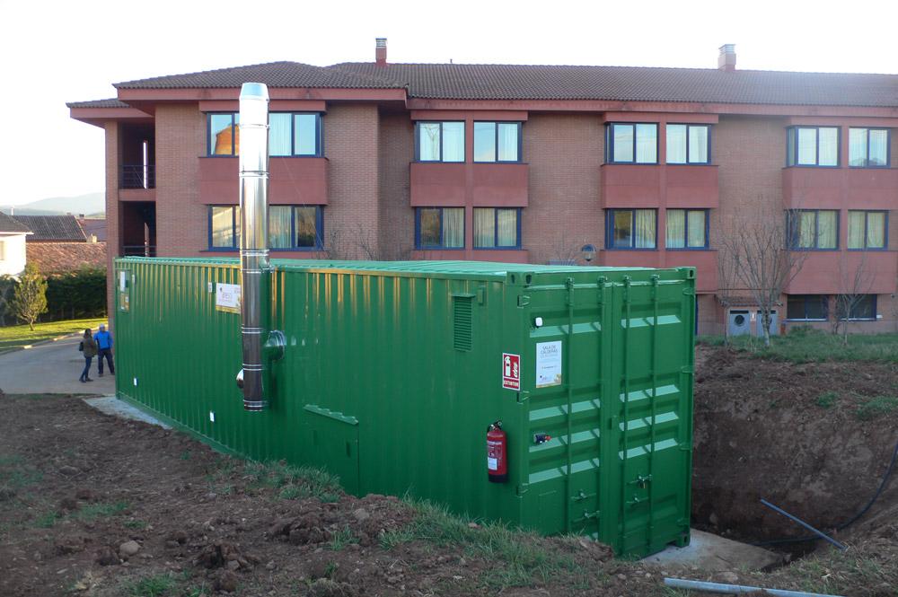 Instalación de biomasa AMH
