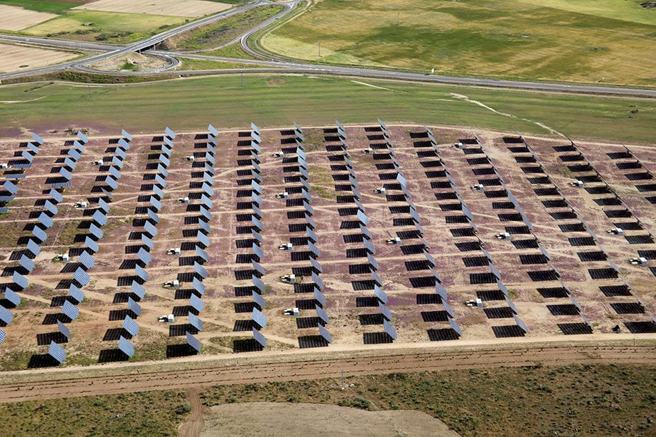 Parque solar fotovoltaico Orgaz