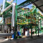 Interior de la planta 5 Villas de Gasificación de Biomasa