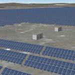 Diseño del parque de energía solar fotovoltaica Zhangiz.