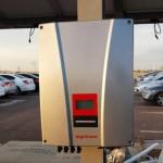 Generador de la instalación solar fotovoltaica.