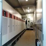 Sala de la instalación solar fotovoltaica Cordillerilla.