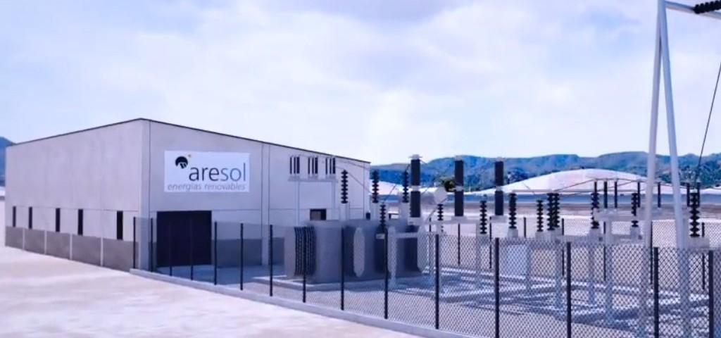 Instalación del parque de energía solar La Caprichosa, en Brasil.