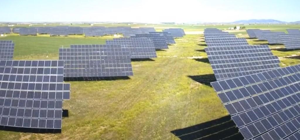 Paneles solares en Fazenda-Marques