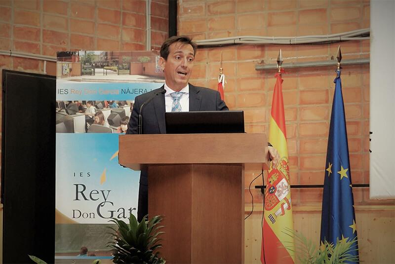 Diego Luezas participó en la sesión de la tarde.