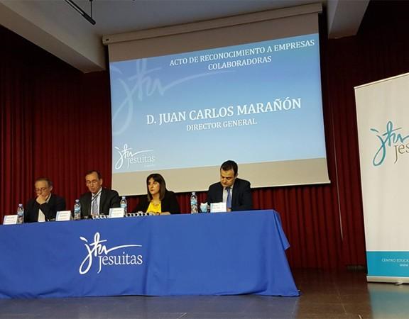 Acto de clausura Jornadas de FP Jesuitas Logroño.
