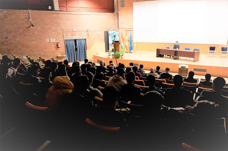 Asistencia en las Jornadas Energia Renovable Rey Don García de Nájera.