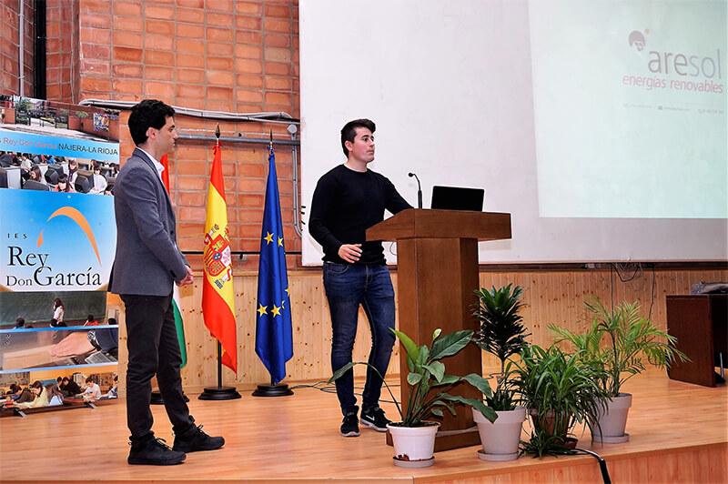 Jornadas Renovables del IES Rey Don García de Nájera