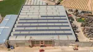 Instalación solar en la empresa Dacsyr